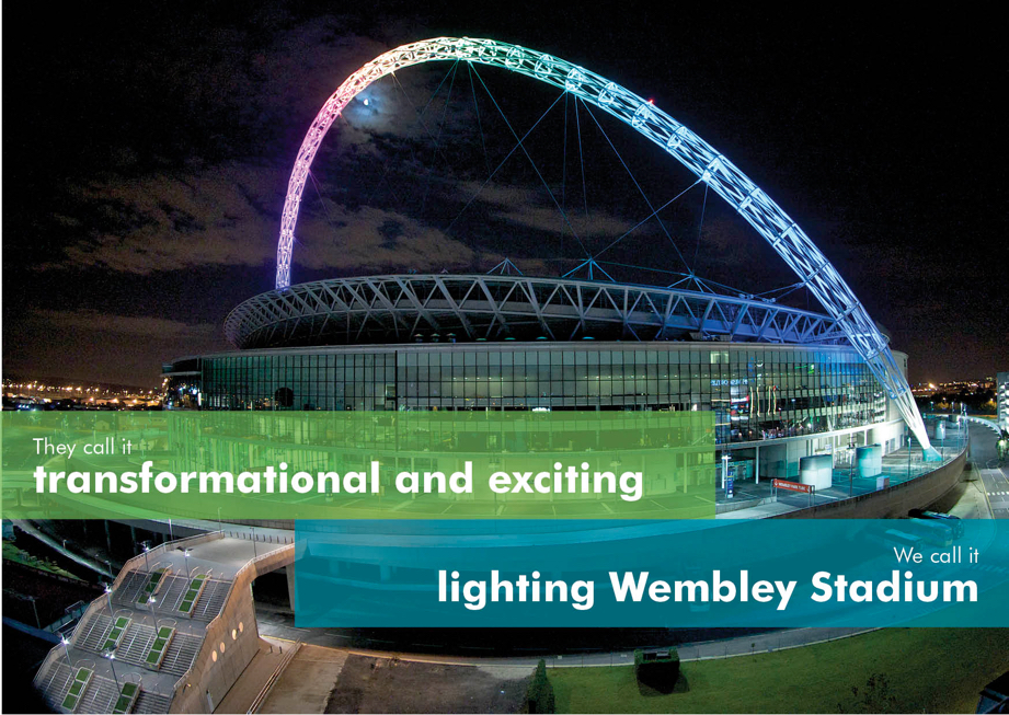 Exclusive Dinner & Tour at Wembley Stadium connected by EE - Hosted by Thorn Lighting – to close the #TDS15 conference
